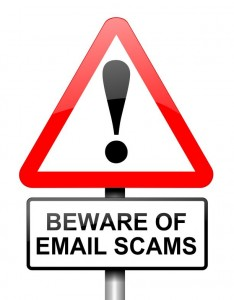 Beware of Email Scams