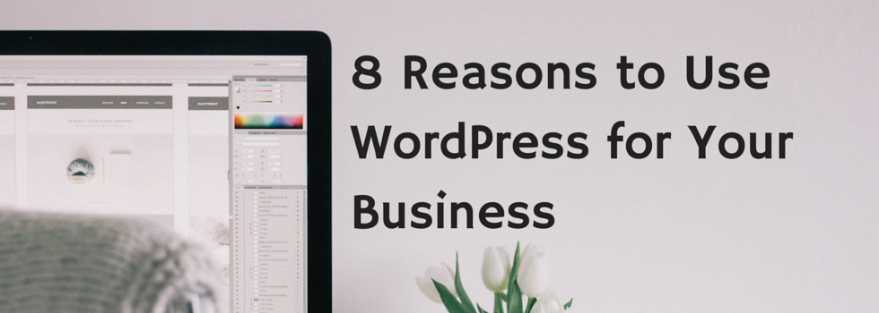 8 Reasons to Use WordPress for Your