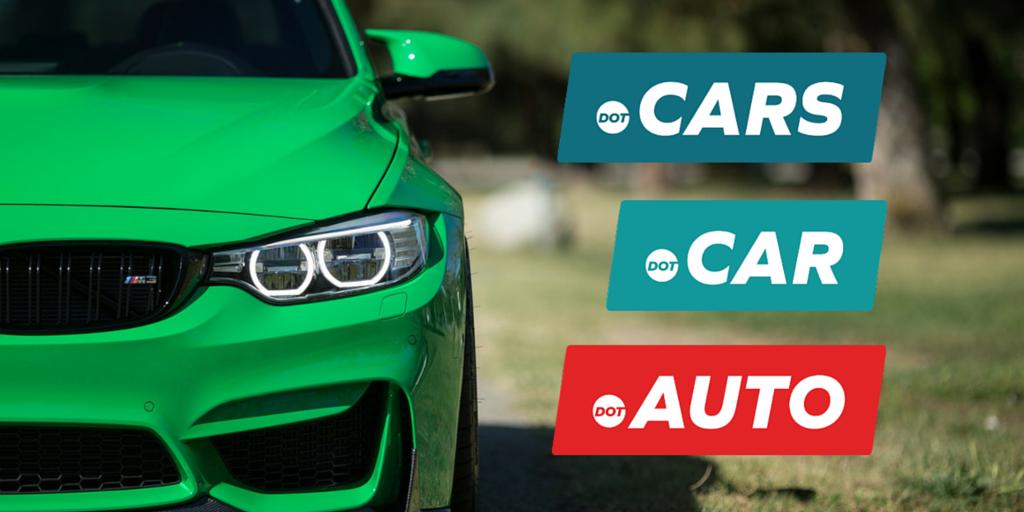 CARS, .CAR, .AUTO banner
