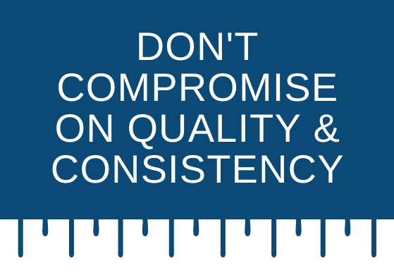 Do not compromise on quality and consistency - strategies for scaling small business