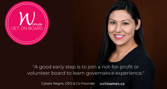 Cybele Negris Discusses Her Corporate Board Journey with Women Get on Board