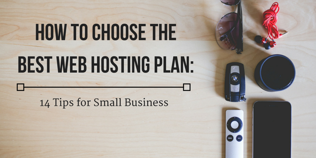 How to choose the best web hosting plan