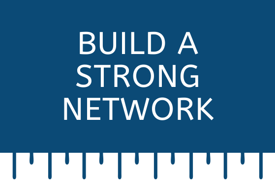 Build a strong network  - tips for scaling your small business