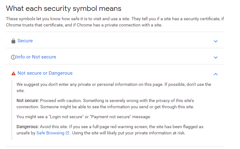 Chrome's Not Secure Warning Is Making You Look Bad, But