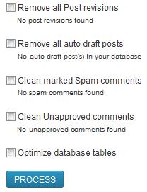 WP-Optimize WordPress Plugin Options