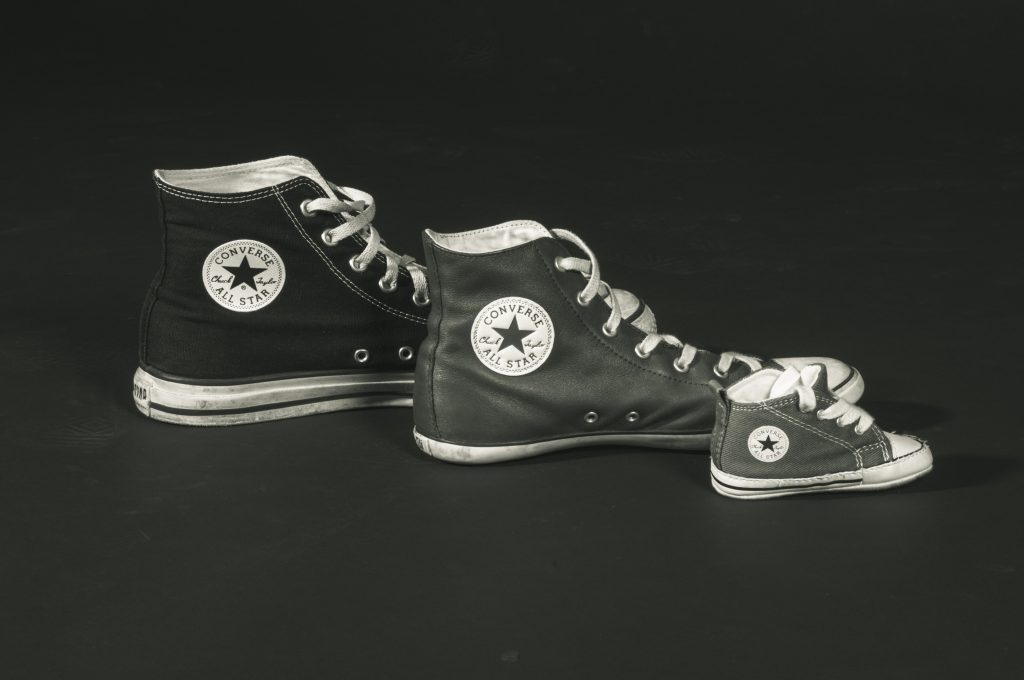 branding - family of chuck taylor converse shoes