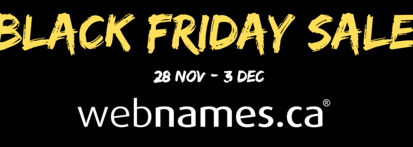 BlackFriday domain name sale