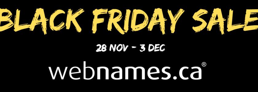 BlackFriday domain name sale