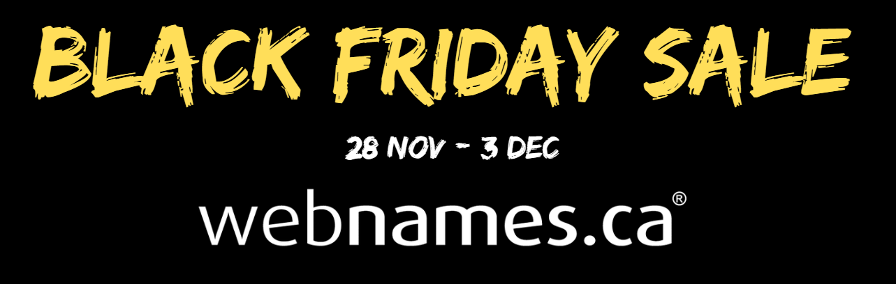 Blackfriday Sale 2019 Deals On Domains Hosting Ssl Webnames Blog