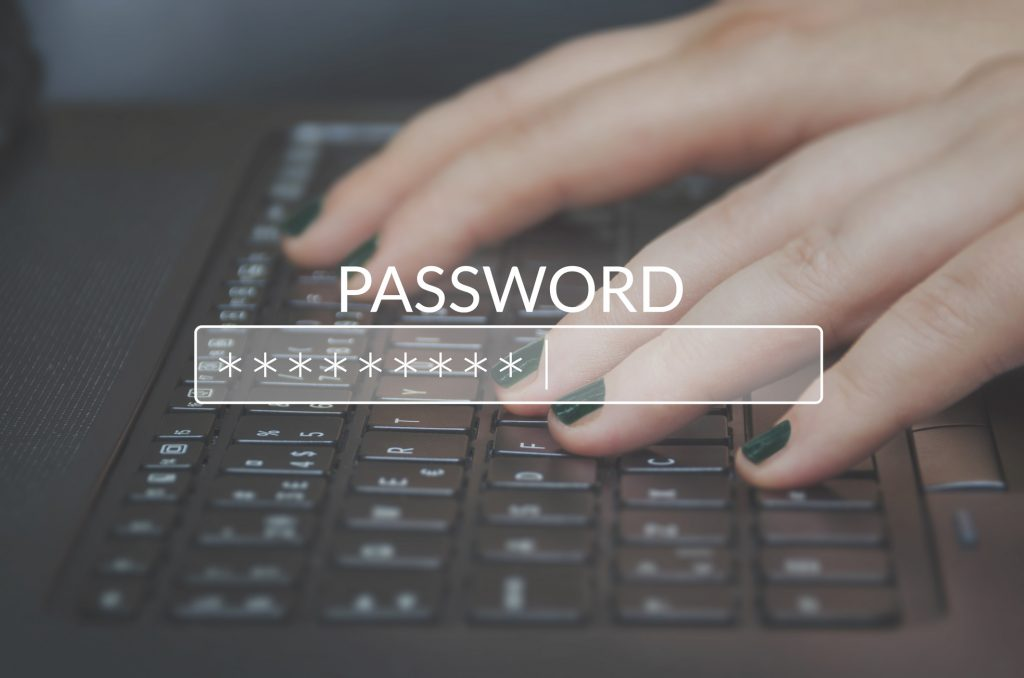 risks of shared passwords to domain security