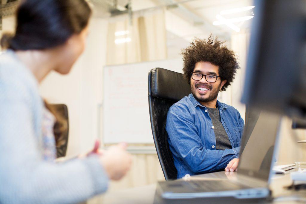 happy looking WordPress developers