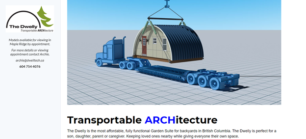 Transportable ARCHitecture by The Dwelly